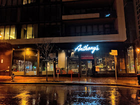 This is the side of Anthony's that runs along Norfolk Avenue in downtown Bethesda. The restaurant opened earlier this calendar year and is the only one of its kind in Maryland.