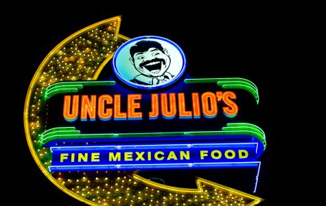 Uncle Julio's stays open during these trying times. Many other restaurants have also stayed open offering food for take-out or delivery.