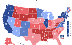 A tied electoral map shows a potential result that could cause the election to be sent to the US House of Representatives. An electoral college tie is among the many non-traditional election outcomes that could occur this year.