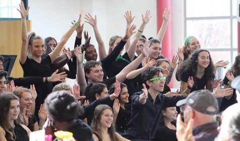 Choir classes successfully adapt to virtual format