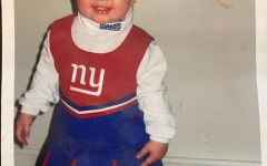 Senior Emma Richardell supports her favorite football even as a little toddler.   She supports the team because her father is from New York.