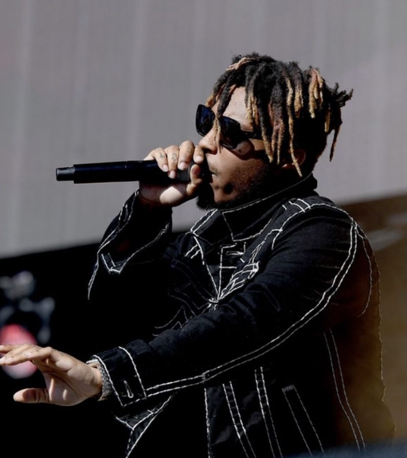Atlanta Rapper Juice Wrld performs at a concert just months before his untimely death.
