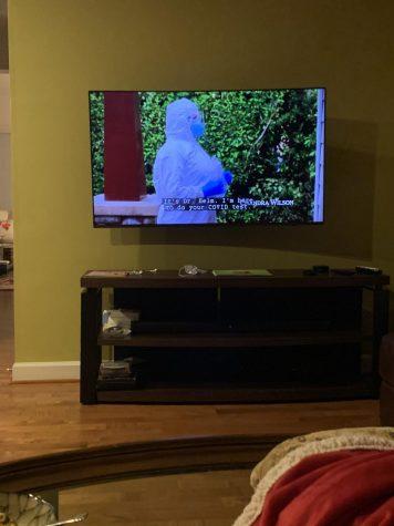 "Senior Rakeb Hailemariam watches an episode of the new 17th season of ""Grey"
