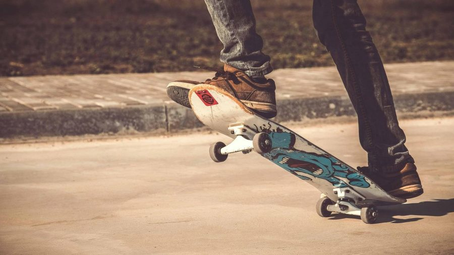 Quarantine has encouraged many students to pick up new hobbies and skateboarding just so happens to be one of them. Its a great way to get outside and have fun!
