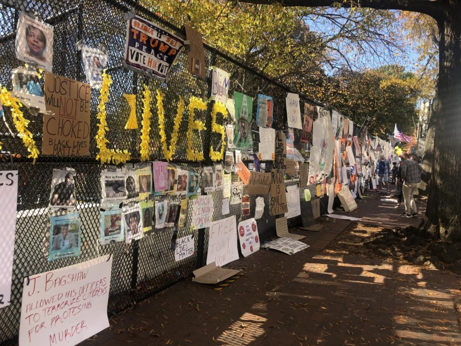 People+across+the+country+have+protested+in+response+to+the+death+of+George+Floyd+last+spring%2C+and+WJ+students+are+no+exception.+Many+students+have+gotten+involved+with+the+Black+Lives+Matter+movement+and+are+making+their+voices+heard.
