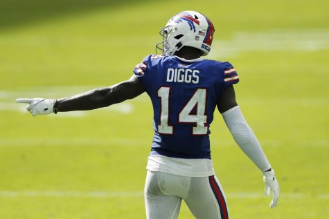 Buffalo Bills star Stefon Diggs breaks out in Buffalo after growing up in Montgomery County