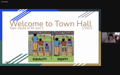 WJ continues with the discussion of equity in their last town hall