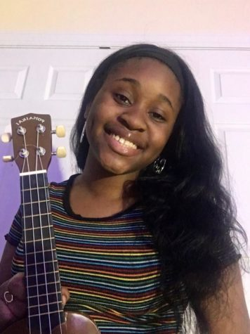 Junior Tomisin Ogunnusi started playing guitar at the beginning of quarantine when she received her first one. Like many other students, playing an instrument and music has helped relieve not only their boredom but also has acted as a stress reliever.