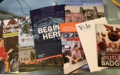 Juniors will receive a lot of mail from various colleges this spring. The informative booklets are designed to help students decide if a school is right for them.