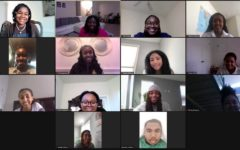 Student members of the Black Student Union (BSU) participate in an after school meeting over Zoom. BSU is one of multiple clubs at WJ working to amplify the voices of students of color.