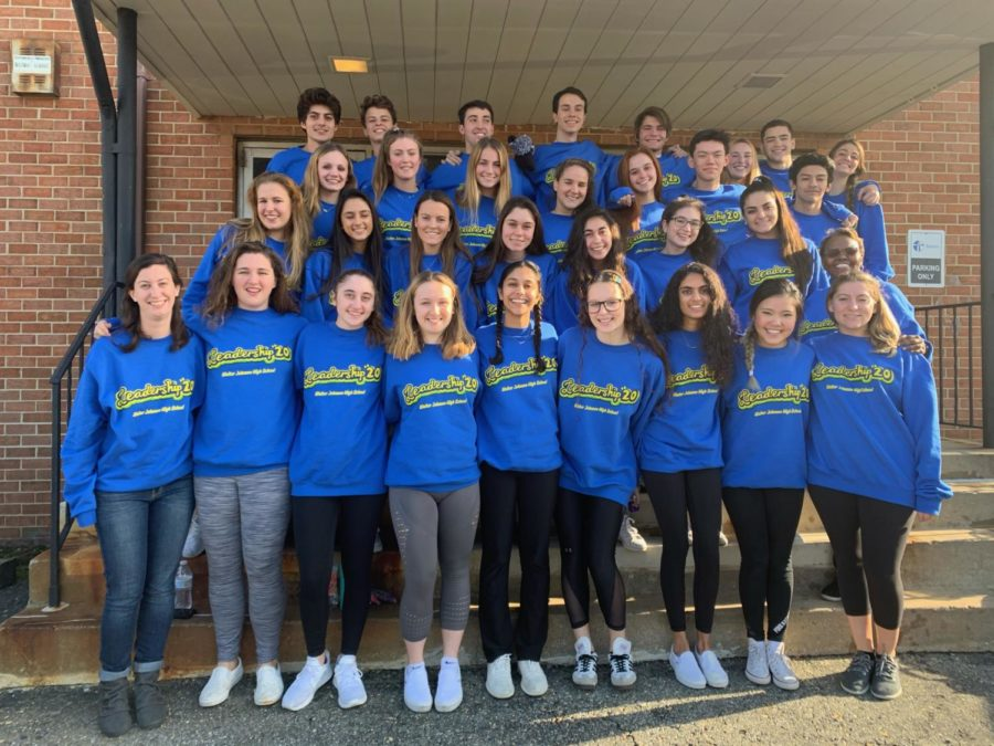The leadership class of 2020 poses for a picture on their field trip to an escape room. Leadership is involved in planning many important school events, but the class also presents fun bonding opportunities.