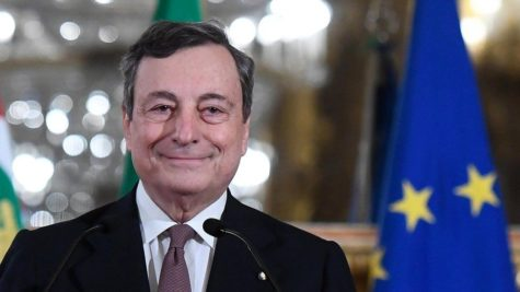 Mario Draghi, former head of the European Central Bank, took over as Italy