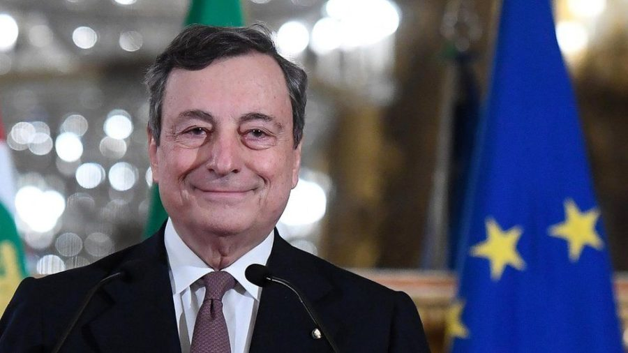 Mario Draghi, former head of the European Central Bank, took over as Italy's Prime Minister this February.  His pragmatism and expertise in political and economic affairs will be tested as he leads a country out of the pandemic and perpetual economic stagnation.