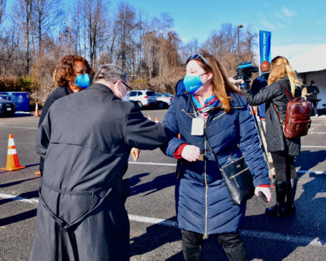 The Six Flags mass vaccination site was one of the first to open in Maryland. Many other mass vaccination sites will open up soon throughout the state.