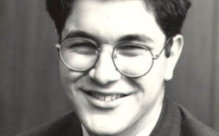 Shervin Pishevars high school photo from when he attended Montgomery Blair High School. Pishevar was elected as SMOB in 1991 and served for one year.