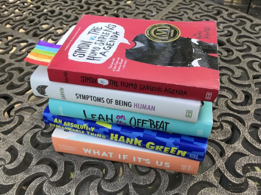 There are many YA books with LGBTQ+ lead characters out there, if you know where to look. A classic of the genre is Simon vs the Homo Sapiens Agenda by Becky Albertalli.