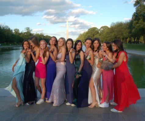 Senior Emelia Isola and her friends didn