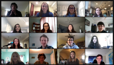 Due to the pandemic, students have utilized Zoom for club meetings and to prepare for future competitions.