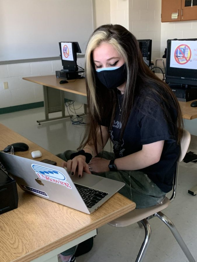 Many students are already attending school in person. However, many were unsure and opted to stay home and remain virtual.