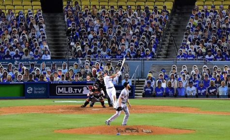 The MLB started using cardboard cutouts in lieu of absent fans during the 2020 season.