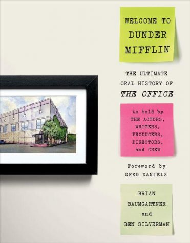 Recognize the watercolor on the cover? Most fans of The Office will: its the piece that Michael buys from Pam during her art show (Business School; S3E17), and it depicts the Dunder Mifflin building from an outsiders view. The painting shows up multiple times after this episode during the series, and when the show concluded, the original painting ended up with Jenna Fischer, who played Pam.