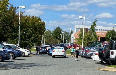 Students leave school at lunchtime to go get lunch from neighboring restaurants. Many students go to nearby Montgomery Mall.
