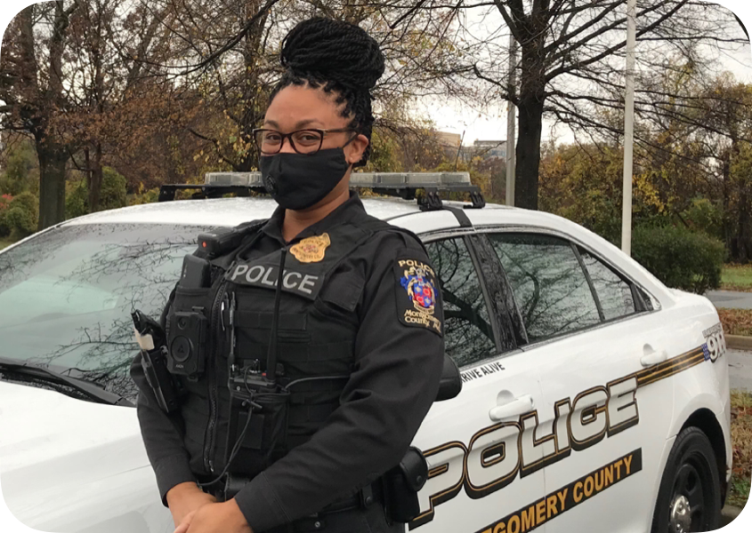 WJs former School Resource Officer (SRO) Shate Jackson was present at WJ every school day during her tenure. She is no longer at WJ due to MCPS ending the SRO program this year.