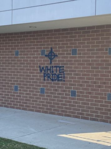 Walter Johnson was vandalized with messages of white pride. The WJ staff was quick to remove the messages soon after the news broke out.