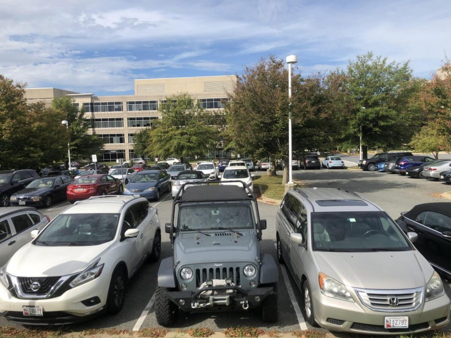 The issue of adults parking in the student lot is becoming a more prominent issue. Many students are frustrated and have had enough.
